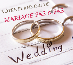 organisation du mariage