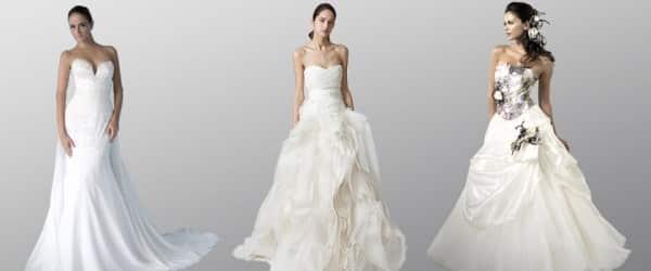 Robe de mariee pour femme tres mince