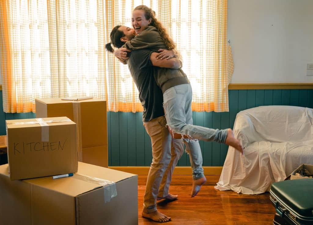 mariage emménagement